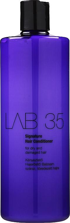 Acondicionador para cabello seco y dañado con aceites de oliva y coco - Kallos Cosmetics Signature Conditioner