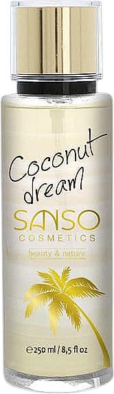 Spray corporal con aroma a coco - Sanso Cosmetics Coconut Dream Body Spray