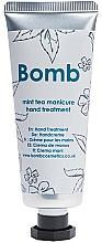 Perfumería y cosmética Crema de manos con aroma a té de menta - Bomb Cosmetics Mint Tea Manicure Hand Treatment