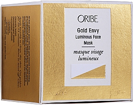 Perfumería y cosmética Mascarilla facial con aceite de onagra común y almendra dulce - Oribe Gold Envy Luminous Face Mask