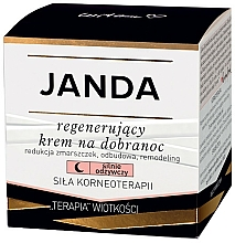 Perfumería y cosmética Crema de noche regeneradora - Janda Strong Regeneration Good Night Cream