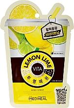 Perfumería y cosmética Mascarilla facial aclarante con extracto de limón & lima - Mediheal Lemonlime Vita Mask