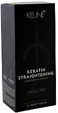 Perfumería y cosmética Keune Keratin Straightening Rebonding System Strong - Set para alisado de cabello con queratina, fuerte (crema/100ml + crema neutralizadora/100ml)