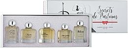 Perfumería y cosmética Charrier Parfums Secrets De Parfums - Set mini (eau de parfum/9.9ml + eau de parfum/10.5ml + eau de parfum/9.9ml + eau de parfum/9.9ml + eau de parfum/9.8ml)