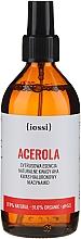Perfumería y cosmética Esencia facial cítrica orgánica con ácido AHA natural, hialurónico y niacinamidas - Iossi Acerola Essence
