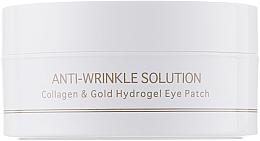 Perfumería y cosmética Parches antiarrugas para contorno de ojos de hidrogel con colágeno y oro coloidal, tamaño estándar - BeauuGreen Collagen & Gold Hydrogel Eye Patch