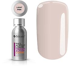 Perfumería y cosmética Acrílico líquido para uñas - Silcare Nail Acrylic Liquid Medium Action Cover