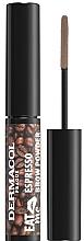 Perfumería y cosmética Polvo de cejas - Dermacol Eat Me Espresso Eyebrow Powder