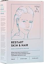 Perfumería y cosmética Terapia para rostro y cabello detox - Restart Skin & Hair. 3 in 1 Bundle