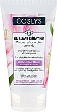 Perfumería y cosmética Mascarilla para cabello dañado y rebelde con lirio orgánico y queratina - Coslys Sublime Keratine Mask