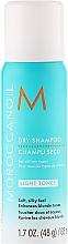 Perfumería y cosmética Champú seco para cabello claro con aceite de argán - Moroccanoil Dry Shampoo for Light Tones