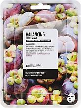 Perfumería y cosmética Mascarilla facial de algodón con mangostán - Superfood For Skin Balancing Sheet Mask