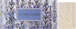 Perfumería y cosmética Set jabón artesanal natural con aroma a lavanda - Saponificio Artigianale Fiorentino Lavender Toscana (3uds./125g)