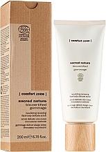 Perfumería y cosmética Exfoliante para rostro y cuerpo con manteca de karité - Comfort Zone Sacred Nature Bio-Certified Gommage