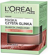 Perfumería y cosmética Mascarilla exfoliante facial con 3 arcillas y alga roja - L'Oreal Paris Skin Expert
