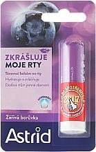 Perfumería y cosmética Bálsamo labial con sabor a arándano - Astrid Lip Balm Bright Blueberry