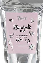 Perfumería y cosmética Exfoliante corporal con café - 7 Days Illuminate Me Shimmering Body Scrub