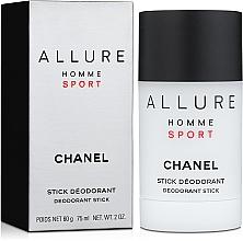 Chanel Allure Homme Sport - Desodorante en stick — imagen N1