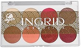 Perfumería y cosmética Paleta de sombras de ojos, vegana - Ingrid Cosmetics Bali Eyeshadows Palette