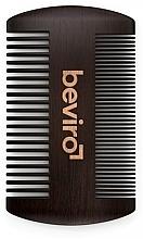 Perfumería y cosmética Peine de madera para barba - Beviro Pear Wood Beard Comb