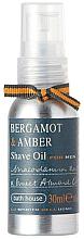 Perfumería y cosmética Bath House Bergamot & Amber - Aceite de afeitar con bergamota & ámbar