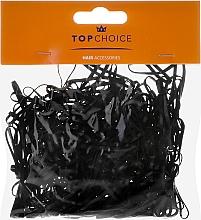 Perfumería y cosmética Gomas de pelo negras mini XS 200 uds. - Top choice