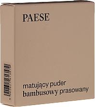 Perfumería y cosmética Polvo facial prensado con efecto mate - Paese Powder Mate