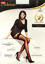 Perfumería y cosmética Pantis con silicona Oplot, 15 Den, negro - Adrian