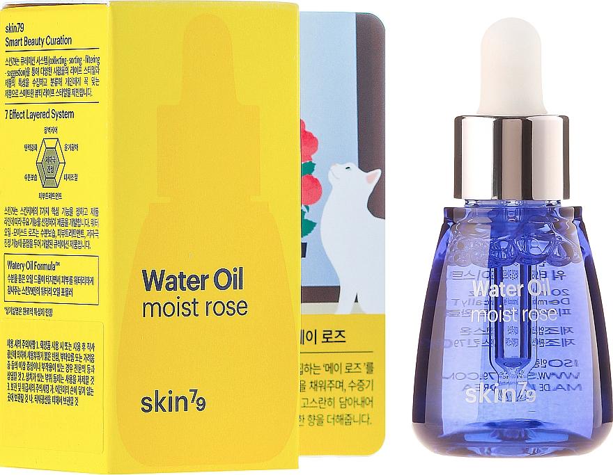 Sérum facial hidratante con agua de rosas - Skin79 Water Oil Moist Rose — imagen N1
