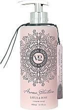 Perfumería y cosmética Jabón de manos líquido con aroma a flor de loto y rosa - Vivian Gray Aroma Selection Creme Soap Lotus & Rose