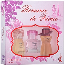 Perfumería y cosmética Charrier Parfums Romance De France - Set (eau de parfum/11.5ml + eau de parfum/10.1ml + eau de parfum/12ml)