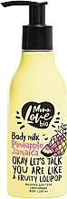 Perfumería y cosmética Leche corporal con extracto de piña - MonoLove Bio Pineapple Jamaica Body Milk