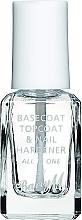 Perfumería y cosmética Base, top y endurecedor de uñas, 3en1 - Barry M All In One Nail Paint