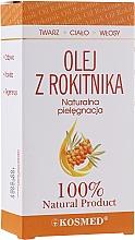 Perfumería y cosmética Aceite de espino amarillo para rostro, cuerpo y cabello, 100% natural - Kosmed