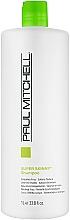 Perfumería y cosmética Champú alisante de cabello encrespado con extractos de alga, jojoba y aloe vera - Paul Mitchell Smoothing Super Skinny Shampoo