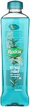 Perfumería y cosmética Espuma de baño con aroma a romero y eucalipto - Radox Herbal Bath Stress Relief