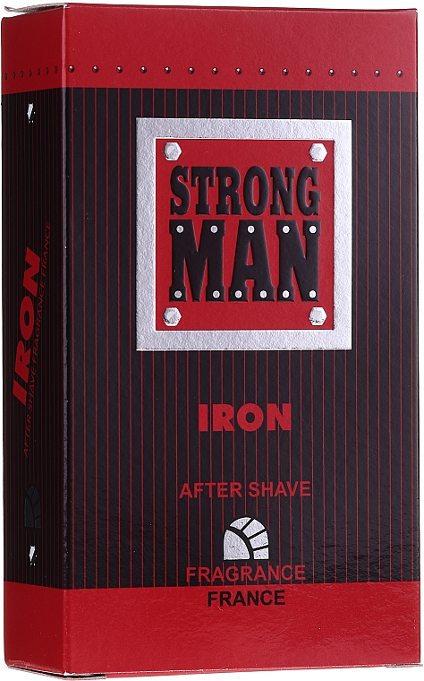 Loción aftershave - Strong Men After Shave Iron
