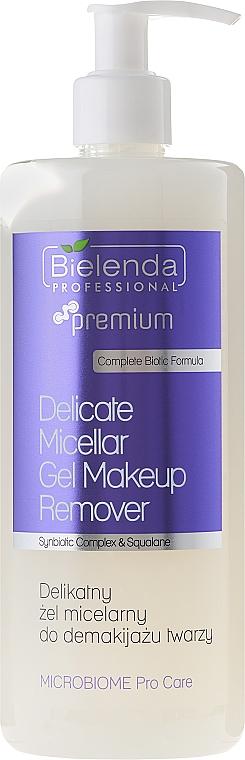 Gel micelar desmaquillante con aceite de salvia y extracto de hamamelis - Bielenda Professional Microbiome Pro Care Delicate Micelar Gel Makeup Remover