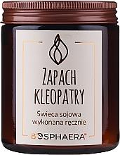Perfumería y cosmética Vela aromática de soja, Cleopatra - Bosphaera The Scent of Cleopatra Candle