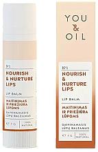 Perfumería y cosmética Bálsamo labial natural nutritivo e hidratante - You & Oil Nourish & Nurture Lip Balm