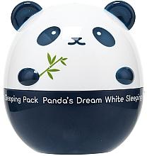 Perfumería y cosmética Mascarilla facial de noche iluminadora con extracto de frambuesa - Tony Moly Panda's Dream White Sleeping Pack