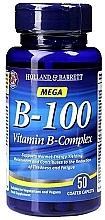 Perfumería y cosmética Complemento alimenticio de complejo vitamínico B-100, en grageas - Holland & Barrett Mega B-100 Vitamin B Complex