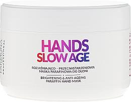 Perfumería y cosmética Mascarilla de manos antimanchas con parafina y ceramidas - Farmona Professional Hands Slow Age Brightening And Anti-ageing Paraffin Hand Mask