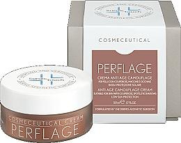 Perfumería y cosmética Crema facial antiedad con vitaminas A, E y cafeína - Surgic Touch Perflage Anti Age Camouflage Cream