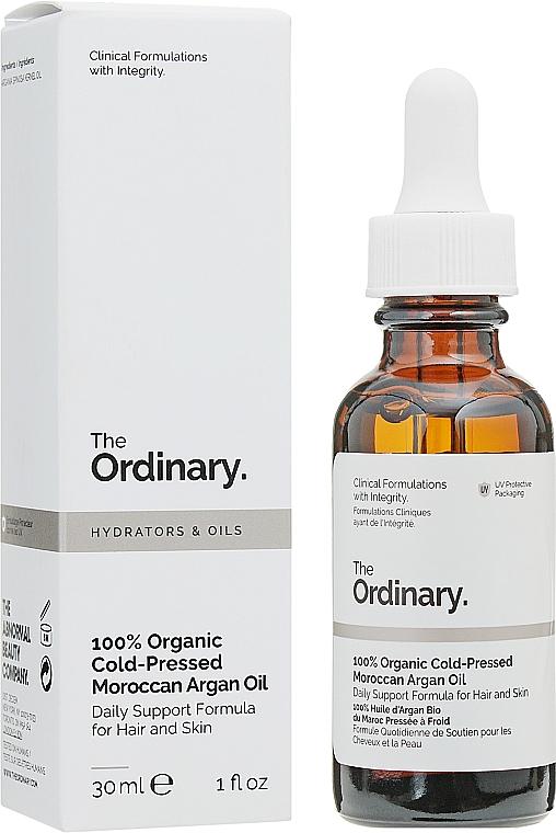 Aceite de argán marroquí 100% orgánico prensado en frío para cuerpo y cabello - The Ordinary 100% Organic Cold-Pressed Moroccan Argan Oil