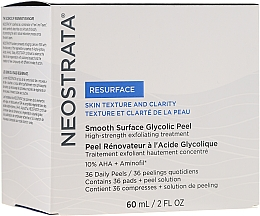 Perfumería y cosmética Exfoliante facial para uso diario - NeoStrata Resurface Smooth Surface Daily Peel