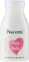 Perfumería y cosmética Leche de baño con proteína de arroz, aceite de coco y almendra, aroma a plátano - Nacomi Milk Bath Banana