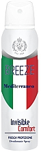 Perfumería y cosmética Desodorante spray fresco - Breeze Mediterranean Invisible Comfort Deodorant Spray
