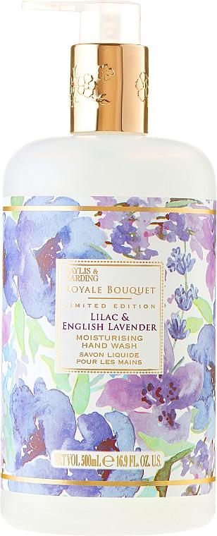 Jabón de manos líquido con aroma a lila y lavanda - Baylis & Harding Royale Bouquet Lilac & English Lavender Hand Wash