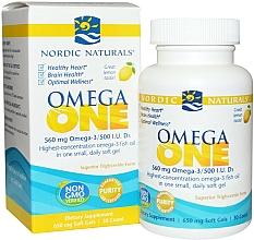 Perfumería y cosmética Complemento alimenticio de Omega One con sabor a limón - Nordic Naturals Omega One Lemon Flavor